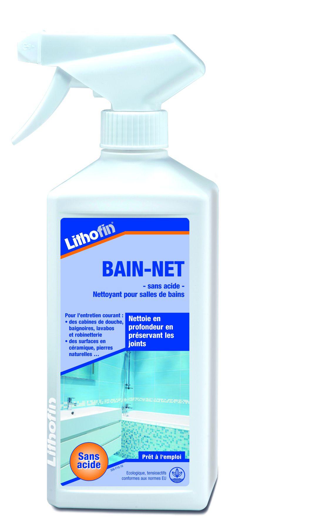 Lithofin BAIN-NET sans acide