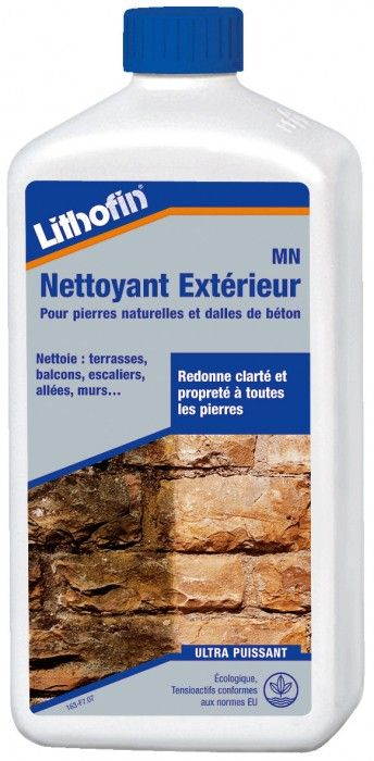 Lithofin MN Nettoyant Extérieur